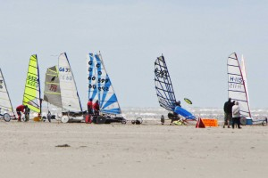Strandsegeln in St. Peter-Ording